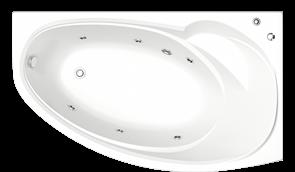 Гидромассажная ванна Bas Флорида R 160х88