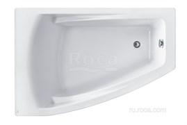 Ванна акриловая Roca Hall Angular 150х100 асимметричная левая белая ZRU9302864