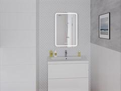 CERSANIT зеркало: LED 051 pro 55*80, с подсветкой, антизапотевание, ф-ция звонка