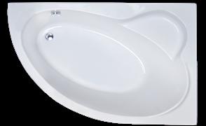 ROYAL BATH Alpine 170х100 Акриловая ванна асимметричная, правая