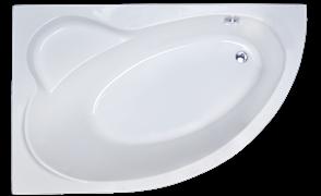 ROYAL BATH Alpine 140х95 Акриловая ванна асимметричная, левая