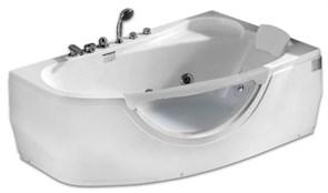 GEMY 161x96 Ванна акриловая гидромассажная, высота 68 см