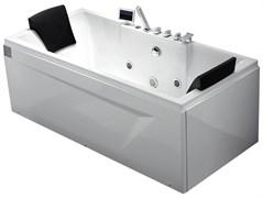 GEMY 175x85 Ванна акриловая гидромассажная, высота 72 см