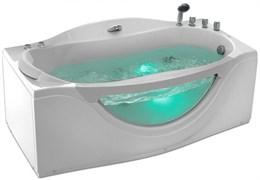 GEMY 171x92 Ванна акриловая гидромассажная, высота 77 см