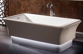 ABBER 168x85 Ванна акриловая, высота 58 см