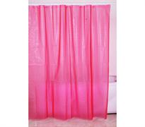 FIXSEN Шторка для ванной, ширина 180 см, цвет розовый