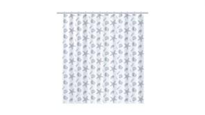 FIXSEN Laguna Шторка для ванной, ширина 180 см, цвет серый