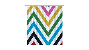 FIXSEN Twist Шторка для ванной, ширина 180 см, цвет мультиколор