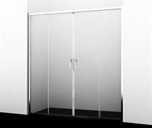 WASSERKRAFT Lippe 45S09 Душевая дверь, ширина 170 см, стекло прозрачное 6 мм