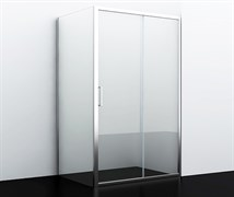 WASSERKRAFT Main 41S10 Душевой уголок прямоугольник, размер 120х100 см, стекло прозрачное 6 мм