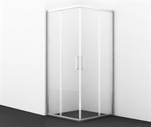 WASSERKRAFT Main 41S19 Душевой уголок квадрат, размер 100х100 см, стекло прозрачное 6 мм