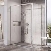 RAVAK BLIX SLIM BLSDP2 Душевая дверь раздвижная, стекло 6 мм
