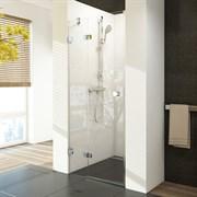 RAVAK BRILLIANT BSD2 Стекла для душевой двери распашной (отдельно приобретаются петли), стекло 6/8 мм, левая, вариант А - диапазон регулировок -10/+5 мм