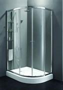 CEZARES ANIMA RH-2-L Душевой уголок асимметричный двери раздвижные, стекло 6 мм, левый вариант