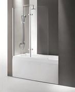 CEZARES ECO-V-21 Душевые шторки для ванн распашные, стекло 6 мм, устанавливается на левую или правую стороны