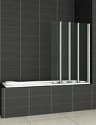 CEZARES PRATICO-V4 Душевые шторки для ванн складные, стекло 5 мм, устанавливается на левую или правую стороны