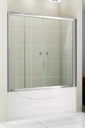 CEZARES PRATICO-VF-2 Душевые шторки для ванн раздвижные, стекло 5 мм, устанавливается на левую или правую стороны