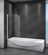 CEZARES RELAX-V-1 Душевые шторки для ванн складные, стекло 4 мм, устанавливается на левую или правую стороны