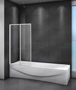 CEZARES RELAX-V-2-R Душевые шторки для ванн складные, стекло 4 мм, правый вариант