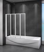 CEZARES RELAX-V-4-L Душевые шторки для ванн складные, стекло 4 мм, левый вариант