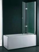 CEZARES VERONA V-21 Душевые шторки для ванн распашные, стекло 6 мм, устанавливается на левую или правую стороны