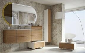 CEZARES Soho Акриловая раковина Solid Surface, левостороняя, 150х49