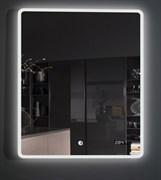 ESBANO Led Зеркало, с подсветкой и часами, ШхВхГ: 60х80х5, система антизапотевания, сенсорный выключатель