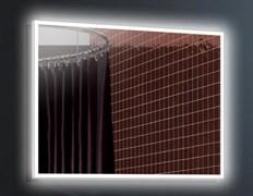 ESBANO Led Зеркало, ШВГ: 100x80х5, LED-подсветка, антизапотевание