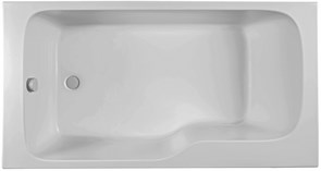 JACOB DELAFON Bain-Douche Malice Ванна прямоугольная 160 х 85 см, левосторонняя.