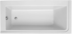JACOB DELAFON Formilia Ванна левосторонняя 170 х 80 см для установки с каркасом.