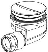 JACOB DELAFON Shower Elements Сифон для поддона, установочный диаметр 90 мм