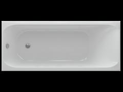 AQUATEK Альфа Акриловая ванна на каркасе, слив-перелив в комплекте, без панели.
