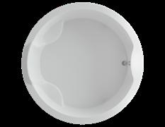 AQUATEK Аура  Акриловая ванна на каркасе, слив-перелив в комплекте, без панели.
