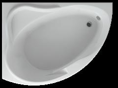 AQUATEK Альтаир Акриловая ванна на каркасе, слив-перелив в комплекте, с панелью. Левая ориентация