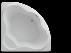 AQUATEK Галатея Акриловая ванна на каркасе, слив-перелив в комплекте,  с панелью