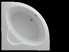 AQUATEK Калипсо Акриловая ванна на каркасе, слив-перелив в комплекте, с панелью