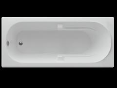 AQUATEK Лея Акриловая ванна на каркасе, слив-перелив в комплекте, без панели.