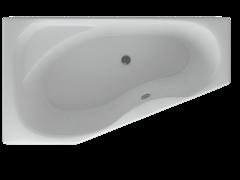 AQUATEK Медея  Акриловая ванна на каркасе, слив-перелив в комплекте, с панелью. Левая ориентация