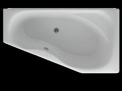 AQUATEK Медея  Акриловая ванна на каркасе, слив-перелив в комплекте, с панелью. Правая ориентация