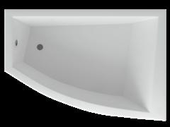 AQUATEK Оракул Акриловая ванна на каркасе, слив-перелив в комплекте, с панелью. Правая ориентация