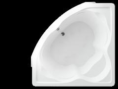 AQUATEK Сириус Акриловая ванна на каркасе, слив-перелив в комплекте, с панелью.