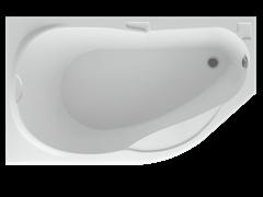 AQUATEK Таурус Акриловая ванна на каркасе, слив-перелив в комплекте, с панелью. Левая ориентация