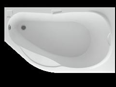 AQUATEK Таурус Акриловая ванна на каркасе, слив-перелив в комплекте, с панелью. Правая ориентация