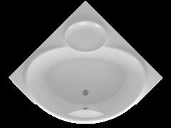 AQUATEK Эпсилон Акриловая ванна на каркасе, слив-перелив в комплекте, с панелью