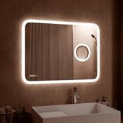 "CONTINENT Зеркало ""Bliss LED"" c часами"