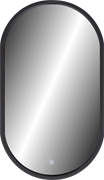 "CONTINENT Зеркало ""Prime Black LED"" c подсветкой"