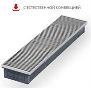 WARMES HAUS Конвектор без вентилятора водяной внутрипольный KWH с решеткой L-3400 мм