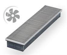 WARMES HAUS Конвектор с вентилятором водяной внутрипольный KWHV с решеткой L-3300 мм
