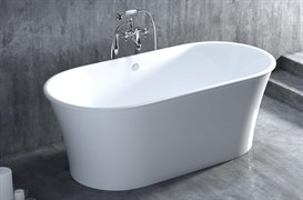 SALINI 177,5 ZOE Ванна отдельностоящая из литьевого камня
