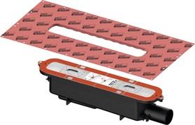 TECE сифон TECEdrainprofile «стандартный» с боковым сливом DN 50